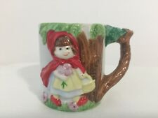 COLLECTIBLE JEFFREY SNYDER NEW YORK (JSNY) 3-D RED RIDING HOOD FAIRYTALE MUG