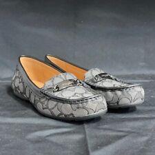 Coach Women's Olive Logo Shoes Flats 6.5
