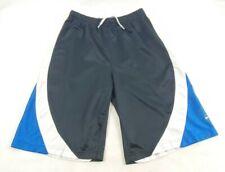 Vintage 90s Nike Swoosh Sportswear Basketball Shorts Mens Large 14-15 Black Rare