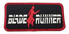 """Blade Runner Movie Title Logo 4 3/4"""" Wide Embroidered Iron On Patch"""