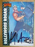 1999 Topps WCW nWo Nitro Hollywood Hulk Hogan #33 NRMT