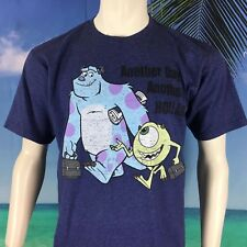 Disney Monsters University Another Day Another Hollar Sully & Mike Men's T-Shirt