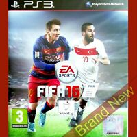 FIFA 16 - PlayStation 3 PS3 ~ Turkish cover Game in English Brand New & Sealed