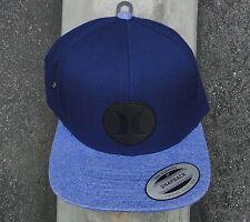 Hurley Surfing Co. M Icon Vapor 2.1 Blue Snapback Hat CapHTHRL-62