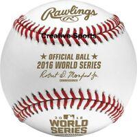 NEW! Rawlings Official 2016 MLB World Series Baseball Major League Game Ball