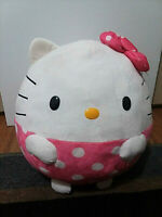 """TY Beanie Ballz"" Hello Kitty Large Size 12 inch Stuffed Plush Ball Toy - New"