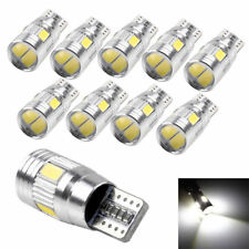 10x T10 6SMD 5630 CHIP LED W5W Canbus Parking White Bulb Lamp Side Light 3W