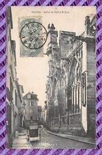 CPA 10 - TROYES - beffroi de l'eglise St jean
