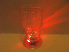 The Lord Of The Rings Lighted Glass Goblet 2001!