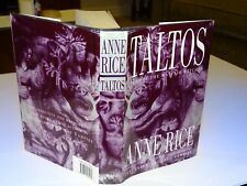ANNE RICE * TALTOS - LIVES OF THE MAYFAIR WITCHES * FIRST EDITION 1994 HB DJ VGC
