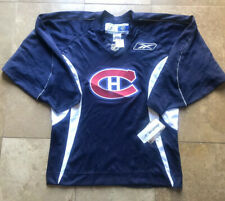 Vintage Montreal Canadiens Blue Stitched Jersey Men/Adult Small- New With Tags