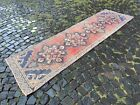 Decor rug, Handmade wool rug, Vintage rug, Bohemian rug | 2,6 x 9,1 ft