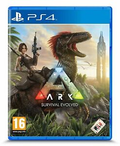 Ark Survival Evolved Playstation 4 PS4 PS5 Dinosaurs Studio Wildcard - New!