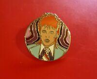 David Bowie Pin Ziggy Stardust Music Fan Enamel Retro Metal Brooch Badge Lapel