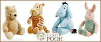 CLASSIC WINNIE THE POOH TIGGER PIGLET OR EEYORE PLUSH TOY OFFICIAL DISNEY NEW