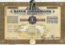 1975 BANCO AMBROSIANO * LA BANCA AL CENTRO DELLE VICENDE IOR/SINDONA/CALVI