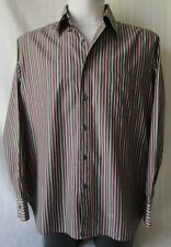 INGRAM CAMICIA  Shirt TG.44-17,5 COTONE 100% Fantasia a righe