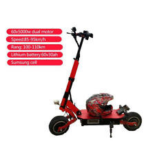 YUME X11 60V 5000W DUAL Motor LEISTUNGSFÄHIGER HOCHGESCHWINDIGER Elektro-Scooter