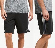 Adidas Kinder Sweat Shorts Jogginghose Sport Training Hose Bermuda schwarz/weiss