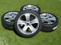 GENUINE RANGE ROVER SPORT AUTOBIOGRAPHY 5 SPOKE 20INCH ALLOY WHEELS & NEW TYRES!
