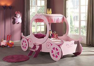 Vipack: Kutschenbett 90 x 200 mit Lattenrost - Kinderbett Jugendbett Mädchenbett