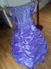 Kostüm Prinzessin mit Reifrock - Marke: I Want To Be - Gr. 116 - Lila