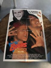 Bill And Ted's Bogus Journey Original Movie Poster
