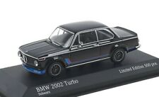 1:43 MINICHAMPS 1973 BMW 2002 Turbo (E20) black L.E. 500 pcs. ck-modelcars Excl.