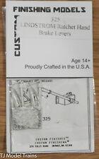 Custom Finishing Models HO #325 LINDSTROM Ratchet Hand Brake Levers