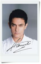 hand signed Aamir Khan 阿米爾汗 autographed original photo 5*7 free shipping 1801A