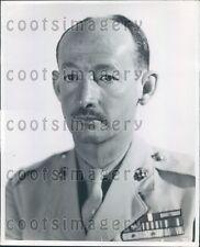 1948 WWII US Marine Col James Devereux of Maryland Press Photo