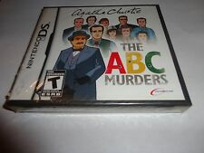 Agatha Christie: The ABC Murders (Nintendo DS, 2009) NEW DS DSI 2DS 3DS