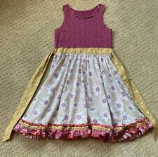 New Matilda Jane Fun In The Plum Platinum Roundabout Tank Dress Size 10 #9 Of 9