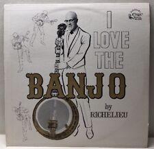 I Love The Banjo By Richelieu KS-2098 Lp Record NM
