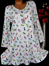New Jersey Tunika Bluse Kleid Shirt Lagenlook Top A-Form Longshirt L 40 42