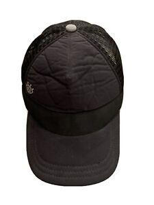Lululemon Womens Black Mesh Adjustable Snapback Trucker Hat Baseball Cap