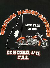Harley Davidson Medium Concord NH Screaming Eagle Performance Parts T Shirt HD