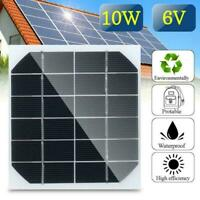 2W 6V Mini Solar Panel Cell Power Module Battery Charger Toys DIY Ligh L4A0