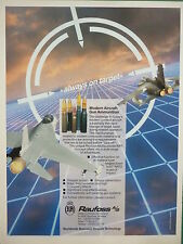 3/1991 PUB RAUFOSS NORWAY COMBAT AIRCRAFT GUN AMMUNITION F-16 TORNADO AD