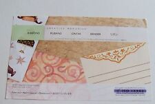 Creative Memories  TTY Page Completion Kit~Ribbons~Roses,Cake,Presents~NIP/NLA
