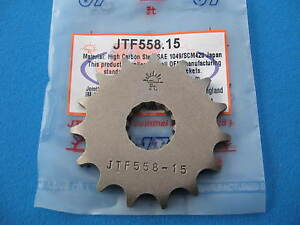 YAMAHA DT125 R  FRONT GEARBOX SPROCKET  15 TEETH  1988 - 2006