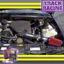 94-96 CHEVY CAPRICE IMPALA FLEETWOOD ROADMASTER 4.3 5.7 AIR INTAKE+K&N Black Red