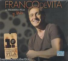 Franco De Vita CD NEW Primera Fila y Mas DELUXE 2 CD + 1 DVD Nuevo SEALED