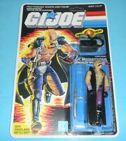 *RECARDED* 1986 GI Joe Cobra Dr Mindbender Complete Sealed CUSTOM File Card Back