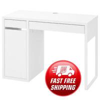 Ikea Micke Furniture Study Desk, Computer Desk, Office Desk, White, 105x50x75 Cm
