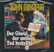 JOHN SINCLAIR - Teil 132 - Der Ghoul , der meinen Tod bestellte - AUDIO CD - NEU