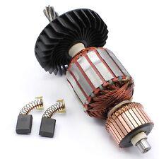 Anker Rotor + Kohlebürsten für Makita Stemmhammer HM 1202 C , HM 1242 C