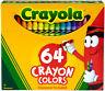 Crayola 64 Count Assorted Wax Crayons (52-0064)