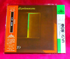 Banco Canto Di Primavera MINI LP CD JAPAN WAS-1038 + PROMO OBI