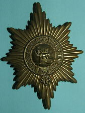 RARE VICTORIAN WORCESTERSHIRE REGIMENT VALISE BADGE - 100% ORIGINAL!!!